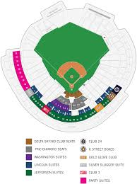 Nationals Stadium Seating Chart With Rows Washington Nationals Stadium Seating