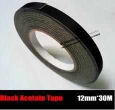 popular cloth glue tape buy cheap cloth glue tape lots from 12mm 30m black cloth black glue insulate acetate tape for wire