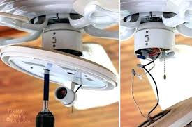 replace pull chain on ceiling fan change light fixture to ceiling fan install a ceiling fan with light plug in ceiling light replace pull chain on ceiling