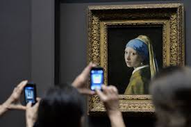 did the girl the pearl earring paint a fifth of vermeer s  share