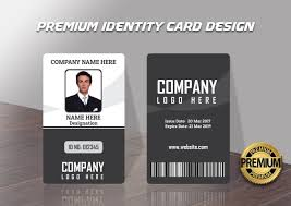 company id card templates design premium quality modern and unique id cards templates