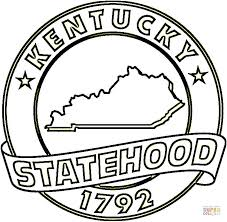 Small Picture State Of Kentucky coloring page Free Printable Coloring Pages