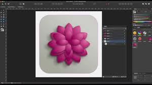 Affinity Designer Lighting Affinity Designer Tutorial 10 3d Lotus Flower Lights And Shadows
