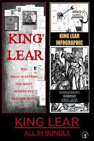 King Lear All In Bundle My Tpt Products Teacher Teaching