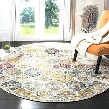damask area rug rugs wool round bohemian vintage cream multi distressed furniture charming crea