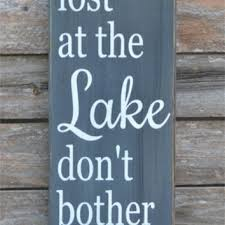 Lake Signs Wall Decor
