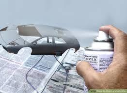 image titled paint a model car step 2