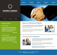Communications Webpage Template - 3156 - Business - Website ...