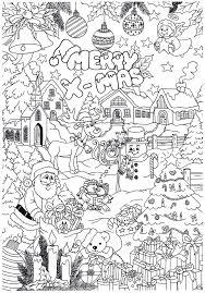 Leuke Kerst Kleurplaat