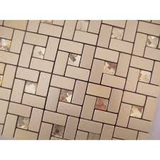l and stick mosaic tiles diamond glass tile backsplash pinwheel patterns metal aluminum acp wall