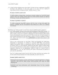 Java/J2EE CV ...