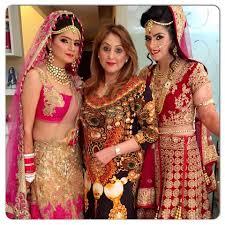 makeup for blue dress meenakshi dutt with her brides