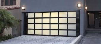 frosted glass garage doors glass