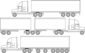 Semi Truck Size Chart Big Truck Guide A Guide To Semi Truck Weights And Dimensions