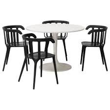 ikea docksta ikea ps 2016 table and 4 chairs you sit comfortably thanks to the