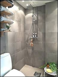 Open Shower Modern Open Shower With Waterproof Wet Area And Bench