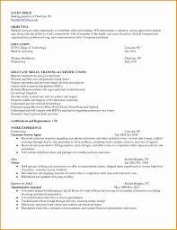 Medical Assistant Objective For Resume Bkperennials