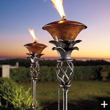 Unique Lighting Ideas Tiki Torch Lights Add A Vacation Feel To Backyard Torch