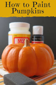 Small Pumpkin Painting 25 Best Painted Pumpkins Ideas On Pinterest Painting Pumpkins
