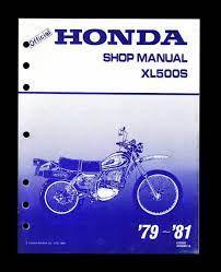 1979 81 honda 500cc xl500 xl500s xl