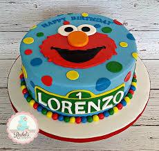 1st Birthday Cake Elmo Zwonzorg