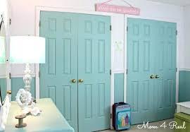 closet doors that look like lockers painting closet doors decorating a love the impact painted closet closet doors