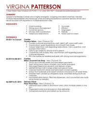Best Restaurant Cashier Resume Example Livecareer