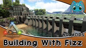 Ark Bridge Design Ark Survival Evolved Building W Fizz Modern Tek Base Build Part4 No Mods