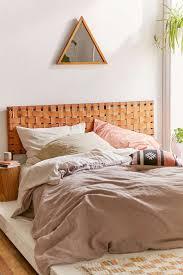 best  leather headboard ideas on pinterest  leather bed green