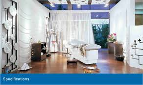 Beauty luxury wooden salon <b>full body massage portable</b> used facial ...