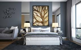 ... Fetching Ideas For Slate Blue Bedroom Design And Decoration :  Astounding Image Of Slate Blue Bedroom ...