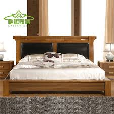 wooden furniture box beds. Residential Modern Chinese Furniture Wood Bed Double 1.5 M Soft Leather Backrest Height Bedside Storage Box Specials-in Wardrobes From On Wooden Beds