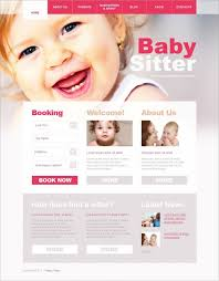 best pink wordpress templates themes premium templates babysitter pink responsive wordpress 75 demo