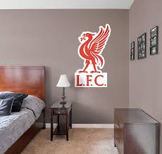 Liverpool Bedroom Accessories Official Liverpool Fc Logo Fathead