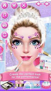 ballerina s beauty salon ballet makeup dressup and makeover games screenshot 2