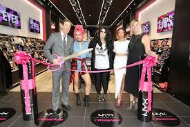 nyx cosmetics opening