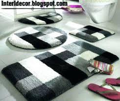 modern bath rugs contemporary bath rugs with regard to modern bathroom ideas 9 all modern bathroom rugs