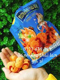 Bánh Snack Ốc Thái Lan Giá Sỉ - Bán sỉ bánh kẹo Thái Lan