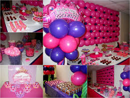 Princess Party Decoration Princess Party Decoration Ideas Anna Party Dessert Table Pink