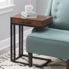 drake ctable with drawer c shaped end table l98