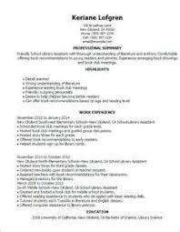 Librarian Job Description For Resume Resume Builder Vancouver Bc
