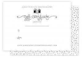 Photography Gift Certificate Template 350 Best Jamie Schultz Designs