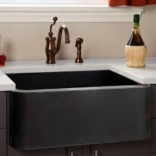 Granite Sinks Kitchen Black Granite Farmhouse Kitchen Sink Quicuacom