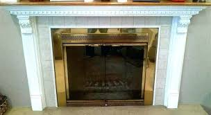 summer fireplace covers 4 insulated magnetic decorative cover ideas brick up mantel mantle ugly traditional living