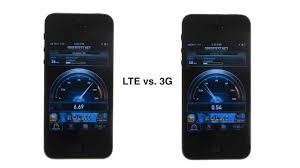 Lte Vs 4g Iphone 5 4g Lte Vs 3g Speed Test Youtube