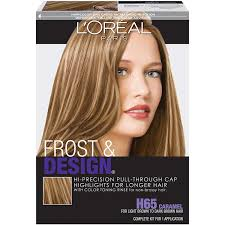 L Oreal Paris Frost And Design Highlights Champagne Professional Techniques Frost Design Caramel 1 Count