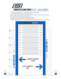 Fillable Online Snum2276 Mens Size Chart Skechers Final 2