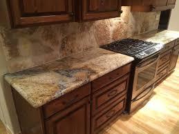 Light Beige Granite Countertop Sienna Beige Granite Kitchen Countertops Rock Backsplash