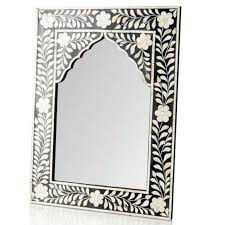 marrakech grids bone inlay mirror
