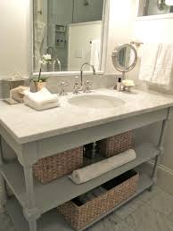 making bathroom cabinets: amazing diy bathroom vanity with marble vanity image